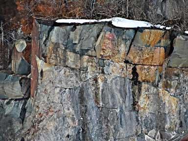 Montello, Wisconsin granite quarry.