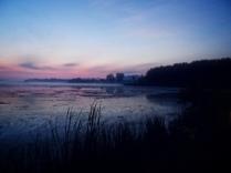 Sunrise on Buffalo Lake, Marquette, County, WIsconsin